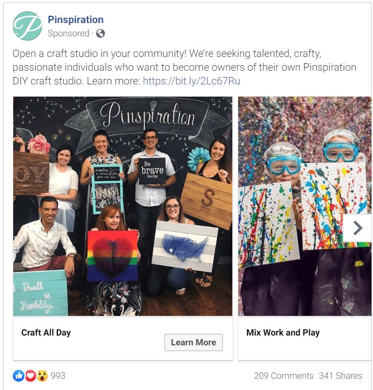 Franchise Facebook Ads