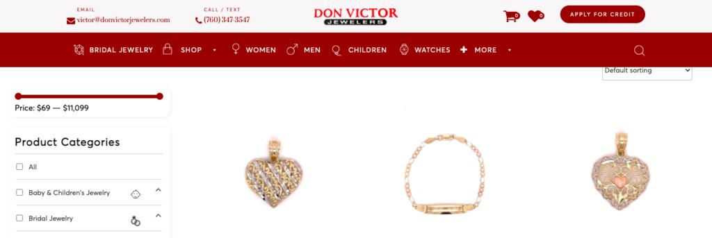 Shoppable website