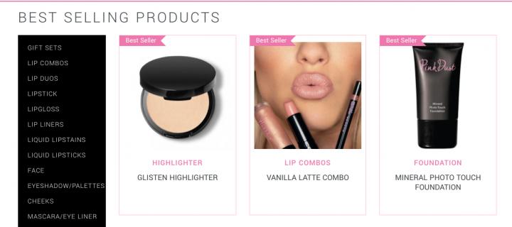 Pink Dust Cosmetics